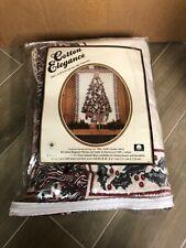 """Cotton Elegance Throw 46"""" X 67"""" Christmas Tree 100% Cotton"""