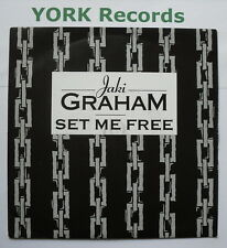 "JAKI GRAHAM - Set Me Free - Excellent Condition 7"" Single EMI JAKI 7"