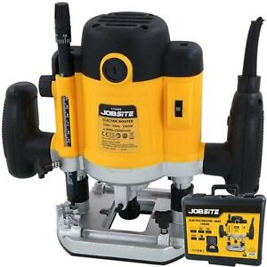 """Neilsen 1500W Electric Woodworking DIY Plunge Router Cutter Power Tool 1/2"""""""