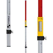 "STABILA 07469 Imperial & Metric Elevation Rod 52"" - 84"""