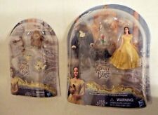 2 Disney Beauty and The Beast Enchanted Rose Scene & Castle Friends Figure Packs