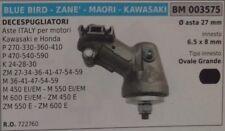 COPPIA CONICA DECESPUGLIATORE MAORI KAWASAKI BLUE BIRD ZANE ASTA Ø 27 OVALE 6.5