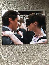 Batman The Dark Knight Rises Christian Bale Anne Hathaway Signed COA Hologram