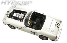HOT WHEELS 1:18 ELITE FERRARI 250GT CALIFORNIA SWB LM 1969 DIE-CAST WHITE T6931