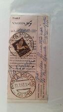 1943 VAGLIA POSTALE+Guller POSTA MILITARE Nr.210 su su c.50 POSTA AEREA-L832