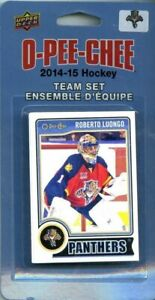 Florida Panthers 2014 2015 Upper Deck O Pee Chee Factory Sealed 16 Card Team Set