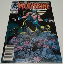 WOLVERINE #1 (Marvel Comics 1988) 1st WOLVERINE as PATCH (FN)
