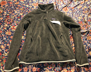 Patagonia 1/4 Snap T Fleece Pullover Women's L