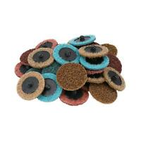 Mixed Grit Type R Roloc Conditioning Quick Change Sanding Discs Pads