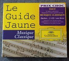 Le guide Jaune - Musique classique, Box 3CD + livret