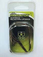 Fox Rage Predator 49Strand Heli Rotary Uptrace Stahlvorfachsystem 60cm 18kg 40lb