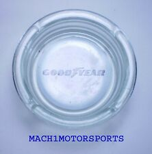 NEW Goodyear Glass ASHTRAY NASCAR Formula 1 Memorabilia Indy 500 Eagle Wrangler