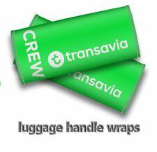 Transavia Crew-Luggage Handle Wraps x2