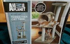 Animal planet  three tier Cat tree