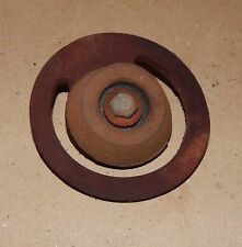 "Cast Iron Foot Valve Replacement Leather Flapper Weight Well 1 1/2"" x 3/16"" 145P"
