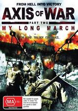 AXIS OF WAR  PART 2  MY LONG MARCH -  NEW & SEALED DVD - FREE LOCAL POST