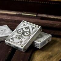 Spirit Playing Cards White Edition V2 Premium Deck