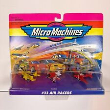Micro Machines Set #33 Air Racers Set by Galoob New In Package VTG 1996    75030