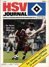 BL 84/85 Hamburger SV - VfB Stuttgart, 11.05.1985