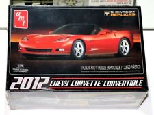 AMT 2012 Chevy Corvette Convertible Replica Curbside kit 1/25 American Muscle