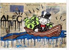 Alec monopoly-NO.7 ,Handcraft Portrait Oil Painting on Canvas 24x36inch no frame