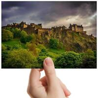 "Edinburgh Castle Scotland - Small Photograph 6"" x 4"" Art Print Photo Gift #8906"