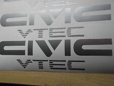 Civic Vtec STICKER/DECAL x2