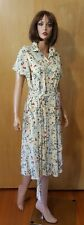 WOMENS FLOWING FLORAL SPRING/SUMMER DRESS by TAHARI ~ 14P