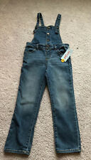 Cat and Jack NWT Girls Denim Overalls Size 5T