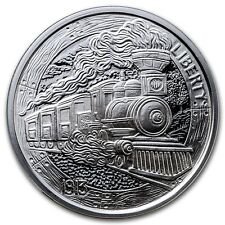 2016 1 oz The Train Silver Round Hobo Nickel Series with COA