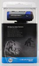 ION Air Pro 2 HD 14MP Sports Video Camera Wi-Fi PODZ Plus Helmet Mount 1080P