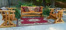 Southern Swings Handmade Patio Set,Outdoor Furniture,Patio Furniture,Porch Swing