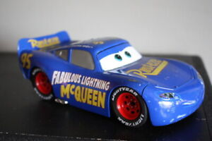 Disney Pixar Cars Fabulous Lightning McQueen Jada 1:24 Scale Diecast Loose Blue