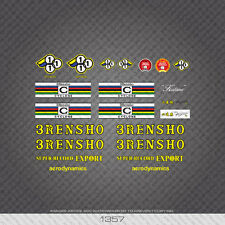 01357 3 Rensho Bicyclette Autocollants-Decals-Transfers