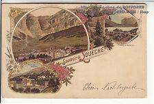 Vor 1914 Kleinformat Ansichtskarten aus der Schweiz