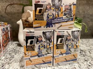 3x BLASTER BOX LOT NASCAR Panini 2021 Donruss Racing Trading Cards