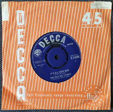 The Rolling Stones - It's All Over Now. Vintage 45 Single Record. 1964.