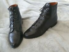 Russell and Bromley Size 6 Lace-Up Leather Ankle Boots