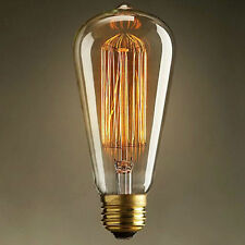 Vintage Industrial Filament LED Light Bulb Lamps Bulbs Squirrel Cage Edison