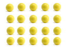 20 balles baby-foot pro compétition ITSF B  homologuées BONZINI