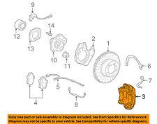 PORSCHE OEM 01-12 911 Front Brake-Disc Caliper 99635143231
