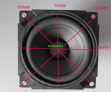 "2pcs 3"" inch 6Ohm 6Ω 10W Neodymium Full-range speaker Loudspeaker"