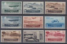 Italien / Italia - Michel-Nr. 505-513 ungebraucht/* (Flugpostmarken / Aerea)