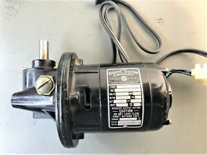 Bodine Electric Co. Speed Reducer/Gearmotor  600:1 Ratio 50 IN LBS. -  NSY-12RG