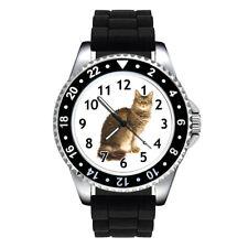 LaPerm Cat Breed Unisex Mens Ladies Jelly Silicone Band Quartz Wrist Watch Se141
