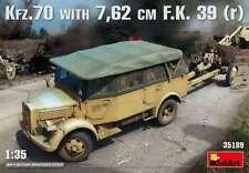 Miniart 1/35 Krupp Kfz.70 & 7.62cm F.K. 39(r) #35189 *New Release*