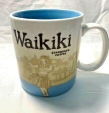 Starbucks 2011 WAIKIKI Global City Icon Collector Series Mug Cup 16 oz Hula New