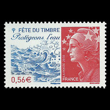 France 2010 - Stamp Festival - Water Protection - Sc 3780 MNH
