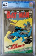 BATMAN #219, CGC 6.0. Feb 1970. Neal Adams cover and art. Off-white pages