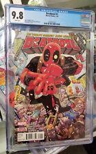 Deadpool #1 Marvel Comics CGC 9.8 Jan 2016 The World's Greatest Comic Magazine